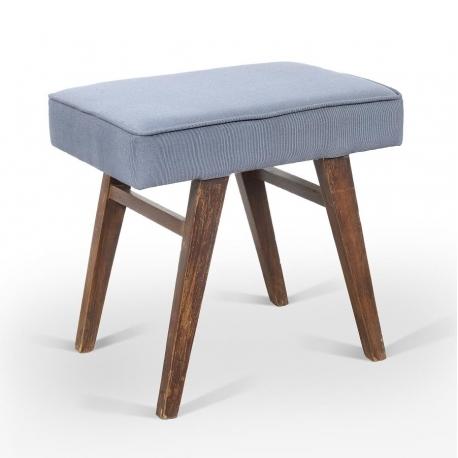 Pierre JEANNERET. Low stool.