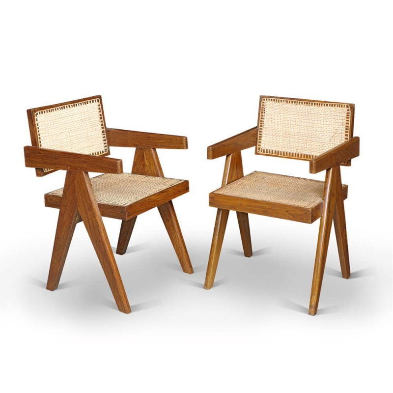 le corbusier fauteuil de bureau pierre de jeanneret. Black Bedroom Furniture Sets. Home Design Ideas