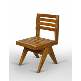 Chaise en teck.