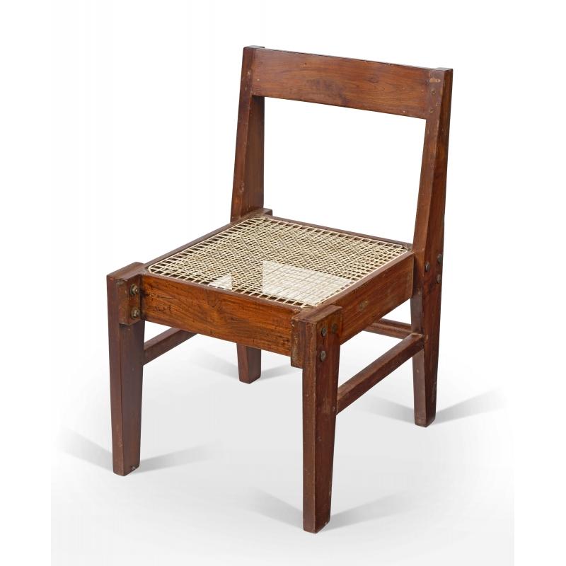 Teak Chair Chandigarh Design