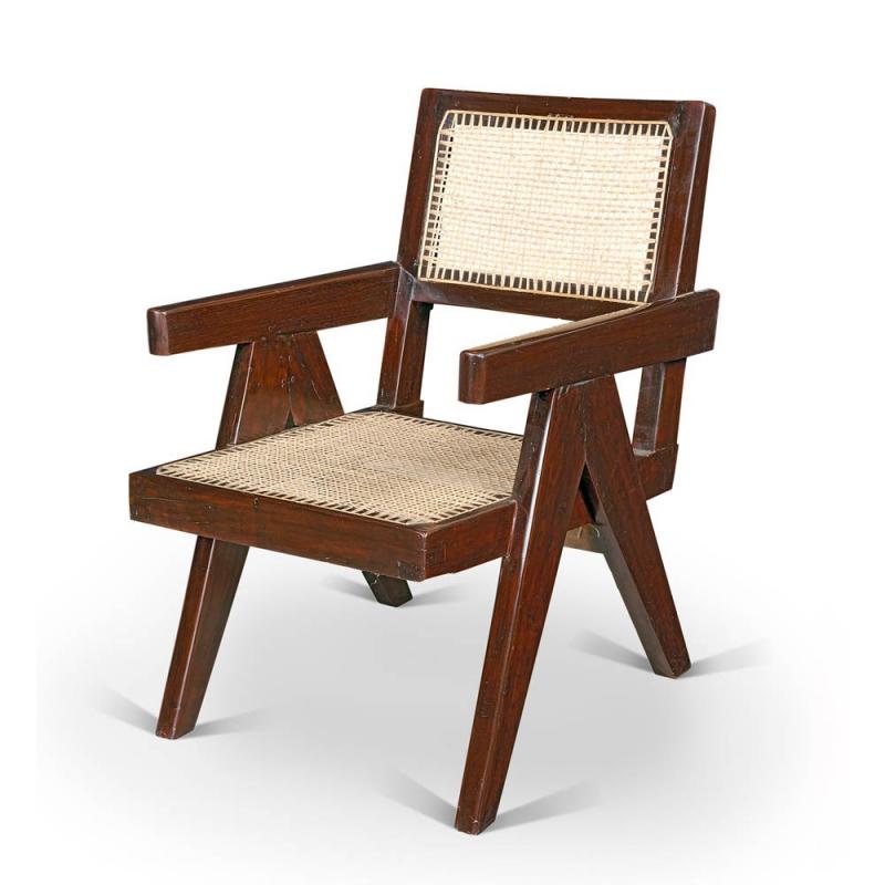 le corbusier fauteuil de pierre jeanneret. Black Bedroom Furniture Sets. Home Design Ideas