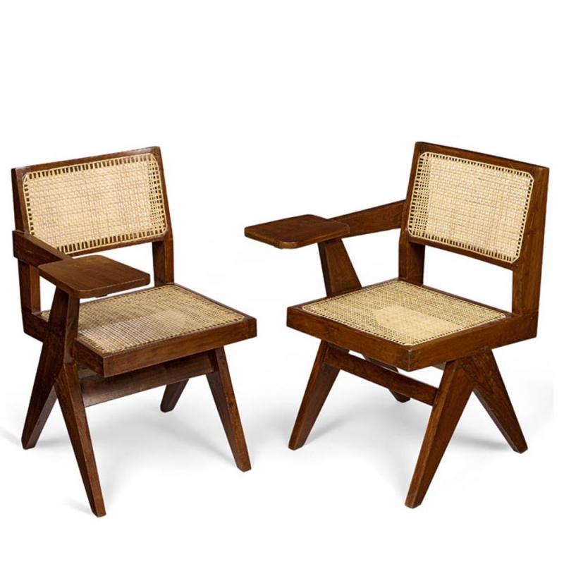 le corbusier chaise critoire de pierre jeanneret. Black Bedroom Furniture Sets. Home Design Ideas
