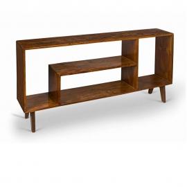 teak bookcase chandigarh design. Black Bedroom Furniture Sets. Home Design Ideas