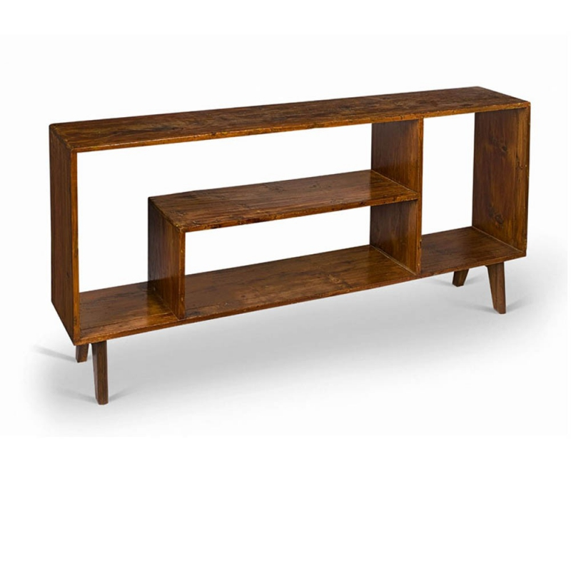 Le corbusier low cupboard by pierre jeanneret for Meubles furniture