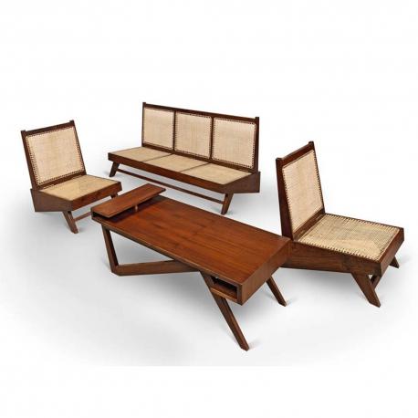 Pierre JEANNERET. Lounge furniture