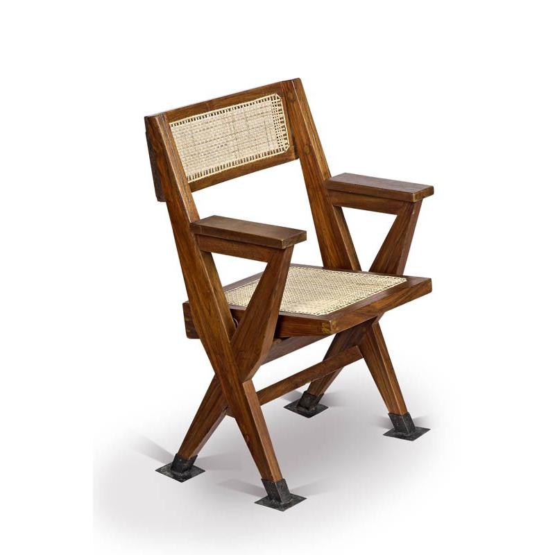 folding armchair chandigarh design. Black Bedroom Furniture Sets. Home Design Ideas