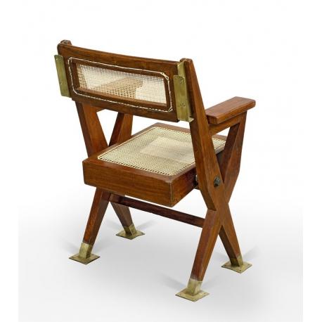 Pierre JEANNERET. Cinema chair.