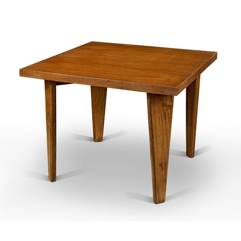 table en teck chandigarh design. Black Bedroom Furniture Sets. Home Design Ideas