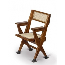 Pierre JEANNERET. Folding armchair.