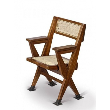 Pierre JEANNERET. Folding armchair.