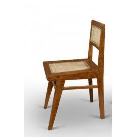 Pierre JEANNERET. Chaise en teck.