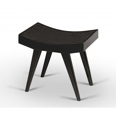 PIERRE JEANNERET. Low stool..