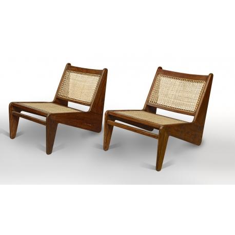 Pierre JEANNERET. Low chair.