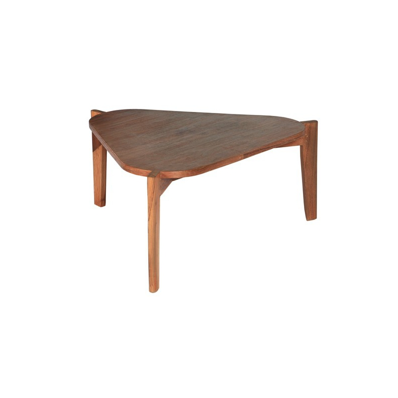 Table Basse Teck Et Pierre De Lave – Phaichicom -> Petite Table Basse Transparente