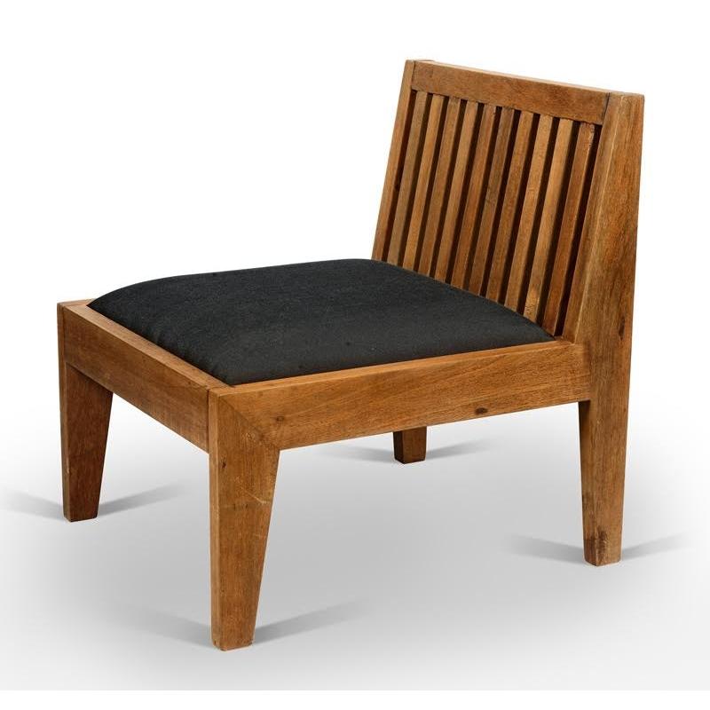 chauffeuse en teck chandigarh design. Black Bedroom Furniture Sets. Home Design Ideas