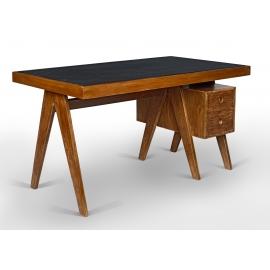 Teak desk.