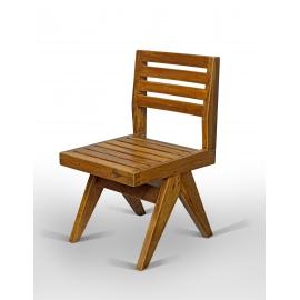Teak chair.