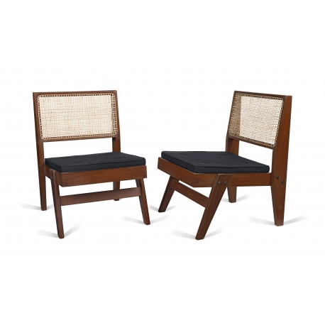 Teak low chair