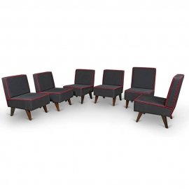 Teak lounge furniture
