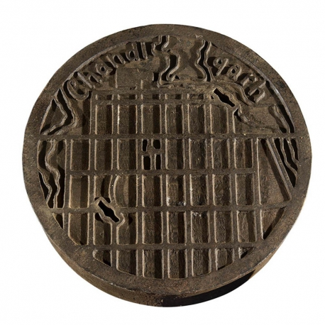 Charles Edouard JEANNERET aka LE CORBUSIER. Manhole cover.