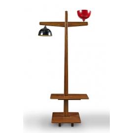 Teak lamp