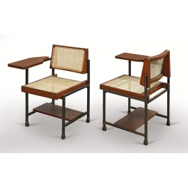 Teak writing chair