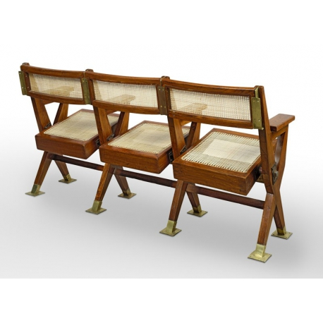 Pierre JEANNERET. Cinema bench.