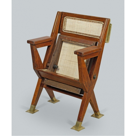 Pierre JEANNERET. Cinema chair.
