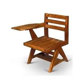 Chaise écritoire en sisso