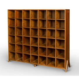 Teak storage unit