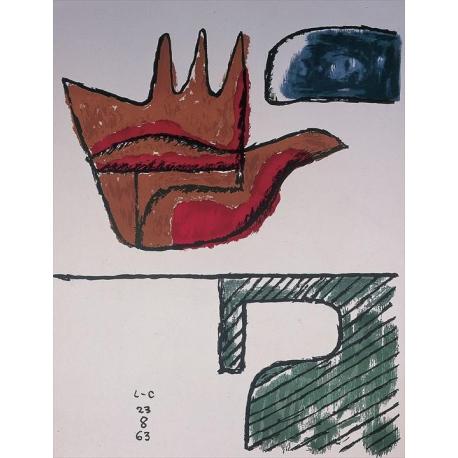Le Corbusier. La main ouverte.