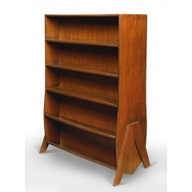 Teak shelf unit