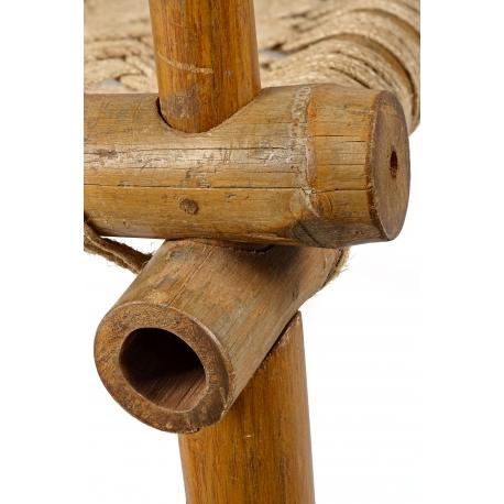 Fauteuil bambou et teck